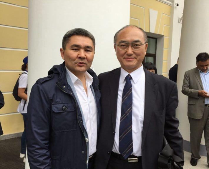 Встреча с генеральным консулом Японии в Санкт-Петербурге. Мероприятие в честь  Дня рождения Ленинградской области 2017 год.