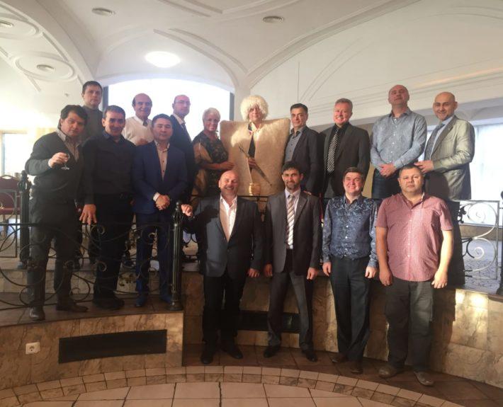 В Аграрном университете в Санкт-Петербурге встреча с Российскими членами Межконфессионального Совета. Руководители разных организаций.